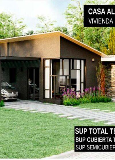 Cip Inmobiliaria Venta de casa a estrenar en Cerro de Oro 5B 01